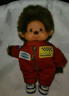 Vintage Orig Sekiguchi Race Doll Monchhichi