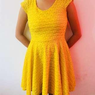 yellow dress #16