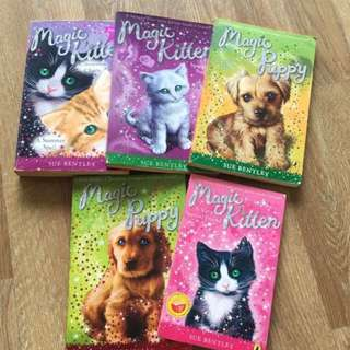 PL Magic Puppy & Kitten Bundle - 5 books