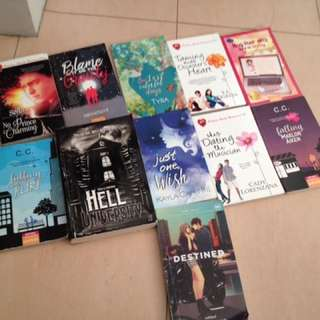 Books! Php 50/195/80