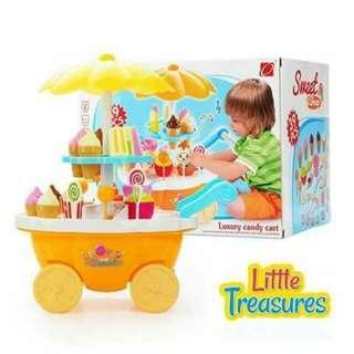 Sweet Shop Cart Playset
