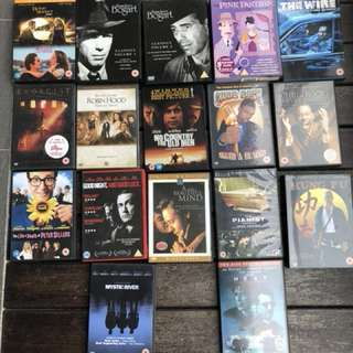 DVD Collection - New or hardly used