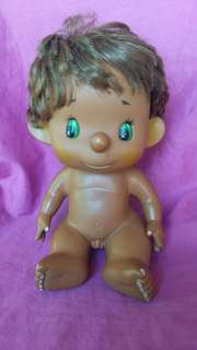Vintage Old age Sekiguchi Doll angel boy tan