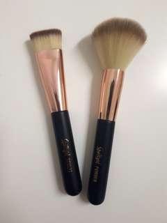 Sports girl makeup brush bundle