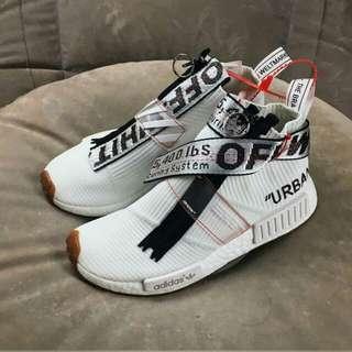 Adidas man nmd cs2 NOMAD URBAN x off white size 40-45