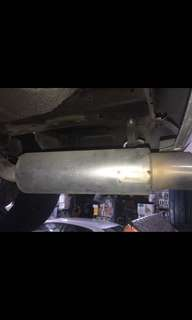 Drift Racing Exhaust System for Mitsubishi Lancer