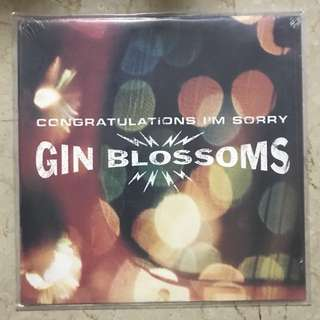 Gin Blossoms Congratulations I'm Sorry Limited Marbled Orange Vinyl