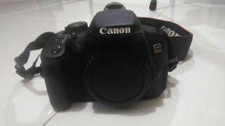 Canon 700D, 18-135 IS STM like new