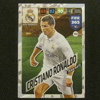17/18 Panini Adrenalyn FIFA 365 Base Card - Cristiano RONALDO #Real Madrid