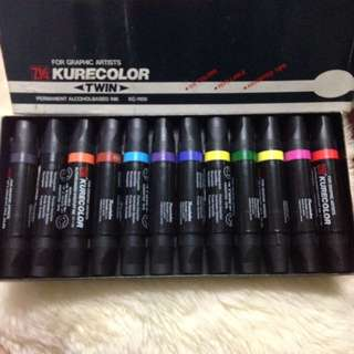 Kurecolor maker pen set 12