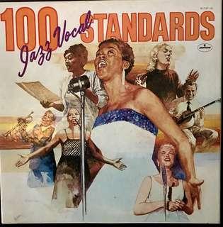 【Vinyl Record】100 Jazz Vocal Standards~Mercury Japan Import 6 LP Box