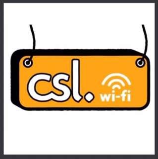 3個月 CSL 無限 Unlimited wifi 超過15,000個熱點 覆蓋全港