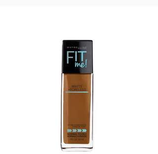 Dark shades - Maybelline Fit me foundation