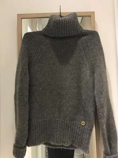 低過兩折!GUCCI cashmere women's turtleneck knit 100% 茄士咩樽領冷衫