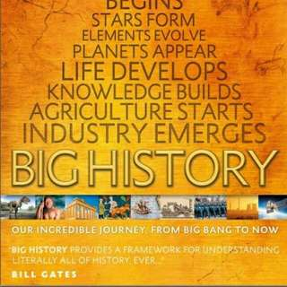 eBook BIG HISTORY
