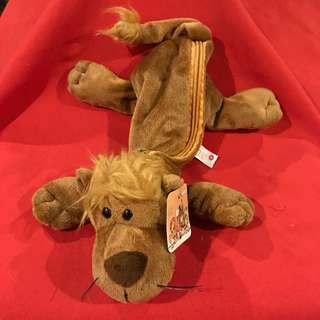 Nici Plush Lion Pencil Case