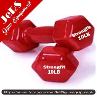10lbs Vinyl Dumbbell (pair)