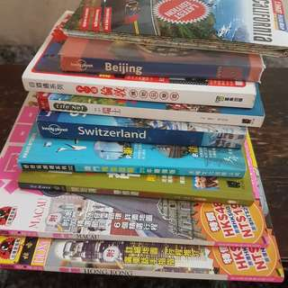 travel books - 1 lot