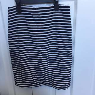 Supre striped skirt