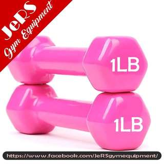 1lb Vinyl Dumbbell (pair)