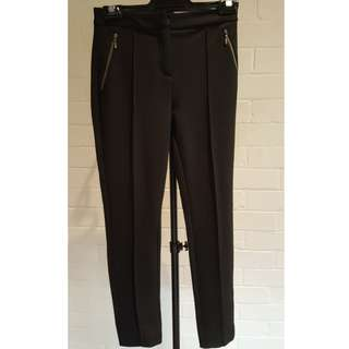 Marcs Black Pants Size 6 Excellent Condition