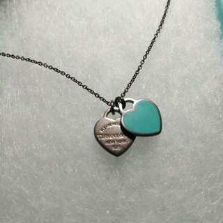 Tiffany and Co Heart Necklace