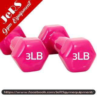 3lbs Vinyl Dumbbell (pair)