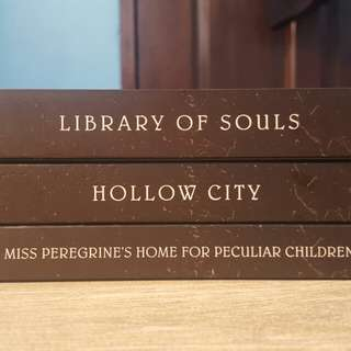 MS. PEREGRINE'S HOME FOR PECULIAR CHILDREN TRILOGY