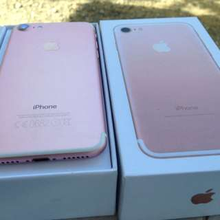 Apple iPhone 7 plus 128gb Rosegold Factory Unlock Complete Package