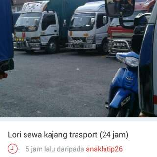 Lori sewa kajang 24jam .1-3-5tan..call/wastp 0166864908.