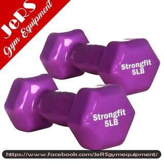 5lbs Vinyl Dumbbell (pair)