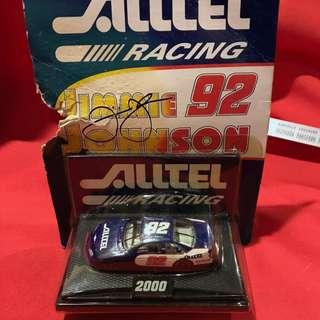 Jimmie Johnson 1:64 Scale 2000 Alltel Busch Series Rookie Car  [signed]