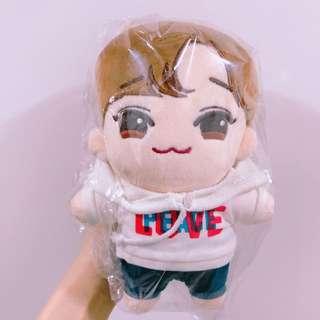 EXO 金鍾大 大學生鍾大20cm玩偶包2件衫