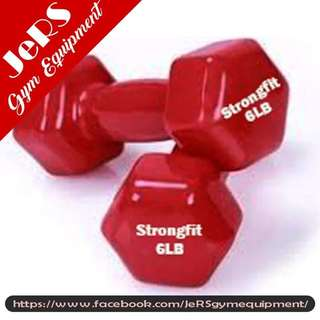 6lb Vinyl Dumbbell (pair)