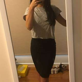 Bec and Bridge Mesh Pencil Skirt