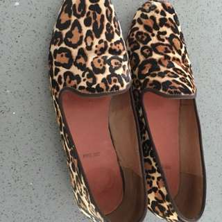 BARED Leopard Print Flats