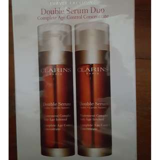 CLARINS Double Serum Duo
