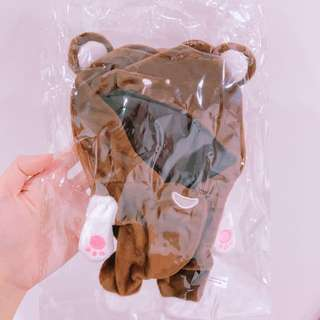 EXO 開嘟寶衫仔-20cm熊仔連身衫