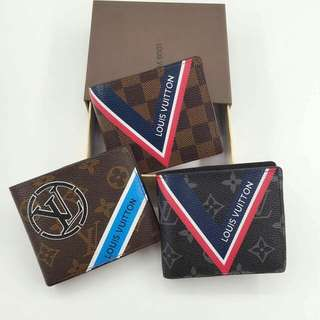 LV Badge Wallet