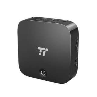 TaoTronics Bluetooth Transmitter and Receiver, Digital Optical TOSLINK and 3.5mm Wireless Audio Adapter for TV / Home Stereo System - aptX Low Latency BA09