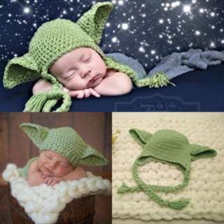 Baby photoshoot photo prop knitting knitted starwar