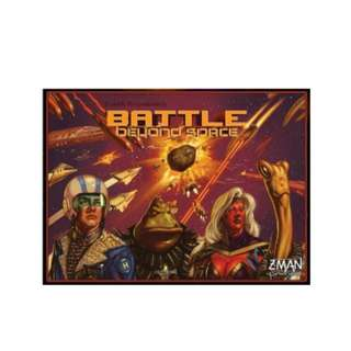 Battle Beyond Space Brand New Board Game