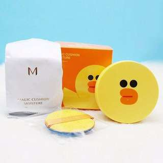 ⚡️SALES! Missha x Line Friend Magic Cushion Moisture SPF50+/PA+++ (Cushion + Refill + Puff)