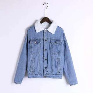 winter jean jacket