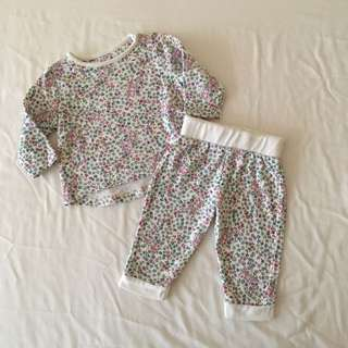 Mothercare Baby Girl Jogger Set