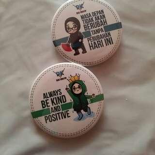 Motivation Badges (set of 2)