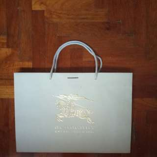 Burberry Paper  Bag (large)