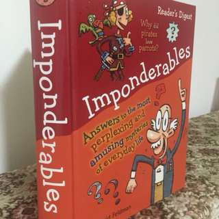 Imponderables - Answers to the most perplexing and amusing mysteries of everyday life