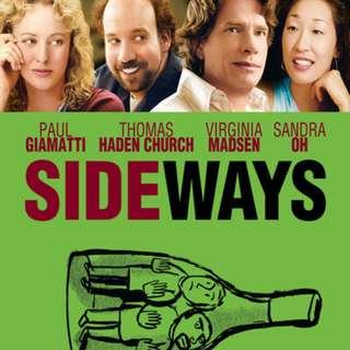 Sideways DVD