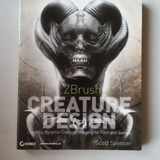 Zbrush Creature Design - Scott Spencer